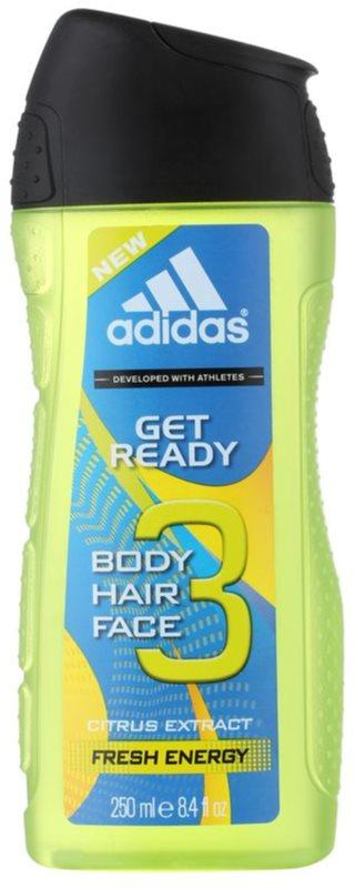 Adidas Get Ready! gel de dus pentru barbati 250 ml 2in1