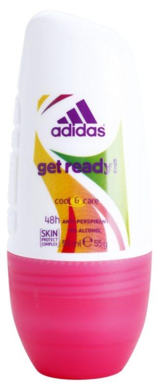 Adidas Get Ready! deodorant roll-on pre ženy 50 ml