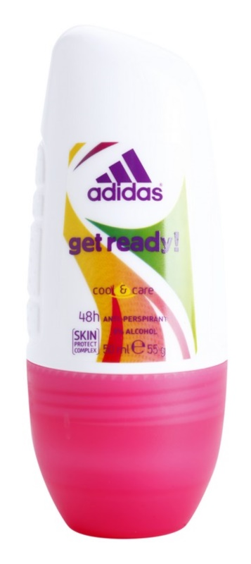 Adidas Get Ready! desodorante roll-on para mujer 50 ml