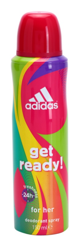 Adidas Get Ready! Deo Spray for Women 150 ml