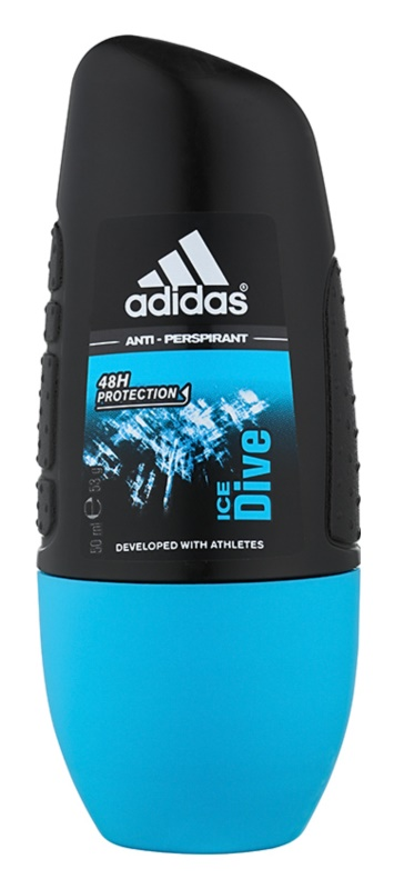 Adidas Ice Dive déodorant roll-on pour homme 50 ml