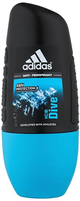 Adidas Ice Dive deodorante roll-on per uomo 50 ml