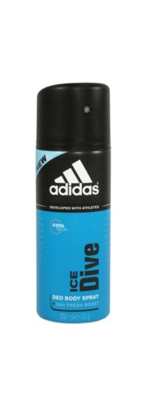 Adidas Ice Dive Deo-Spray für Herren 150 ml  24 h