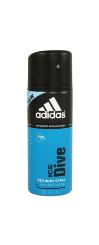 Adidas Ice Dive Deo Spray voor Mannen 150 ml  24 h