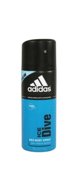 Adidas Ice Dive deospray pentru bărbați 150 ml  24 h