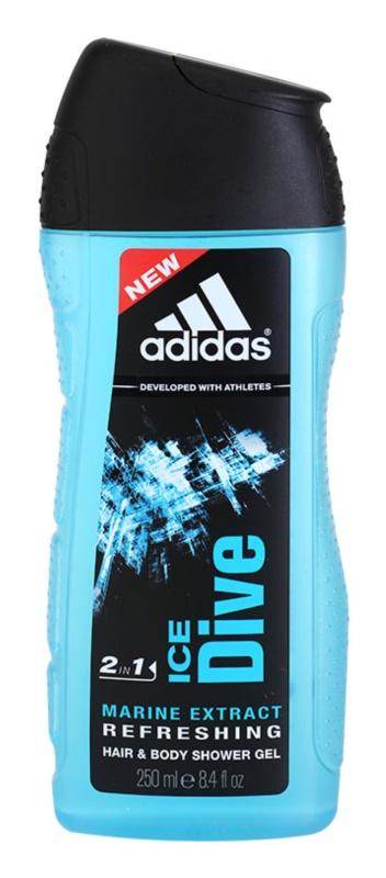 Adidas Ice Dive gel de dus pentru barbati 250 ml