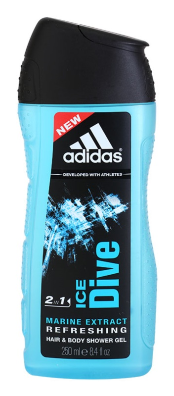Adidas Ice Dive gel za tuširanje za muškarce 250 ml
