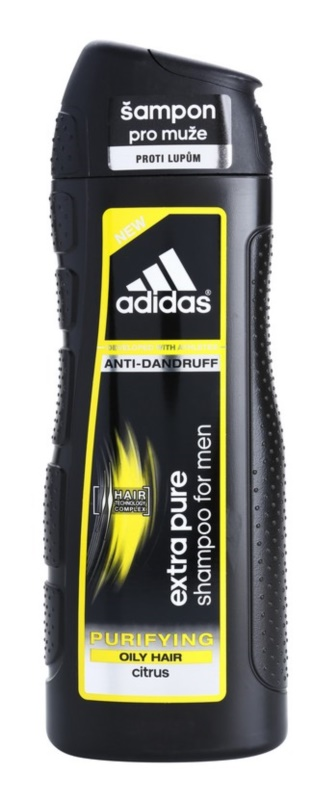 Adidas Extra Pure очищуючий шампунь проти лупи