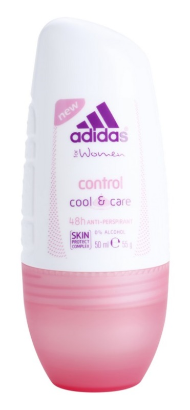Adidas Control  Cool & Care deodorant roll-on pentru femei 50 ml