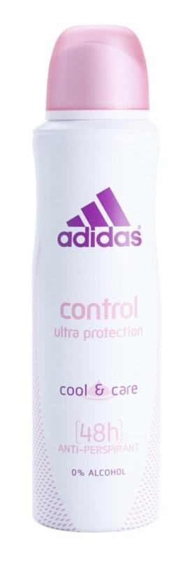 Adidas Control  Cool & Care deodorant Spray para mulheres 150 ml