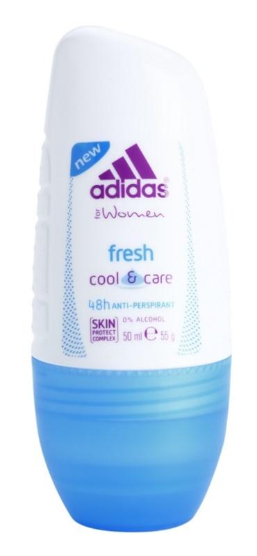 Adidas Fresh Cool & Care дезодорант кульковий для жінок 50 мл