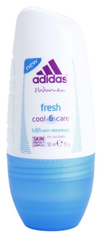 Adidas Fresh Cool & Care deodorant roll-on pentru femei 50 ml
