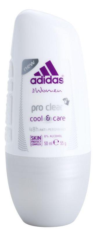 Adidas Pro Clear Cool & Care deodorant roll-on pentru femei 50 ml