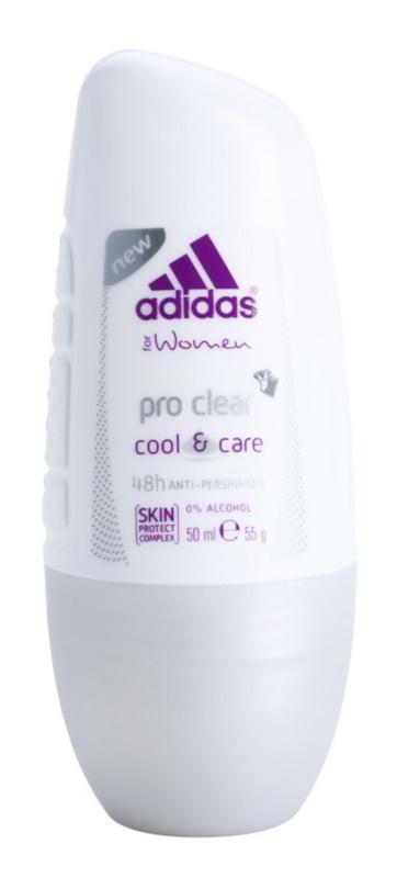 Adidas Pro Clear Cool & Care golyós dezodor nőknek 50 ml