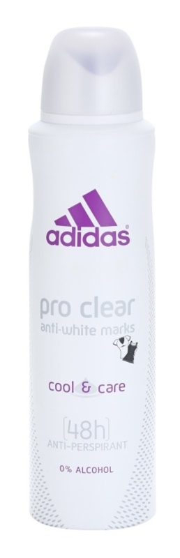 Adidas Pro Clear Cool & Care Deo Spray voor Vrouwen  150 ml