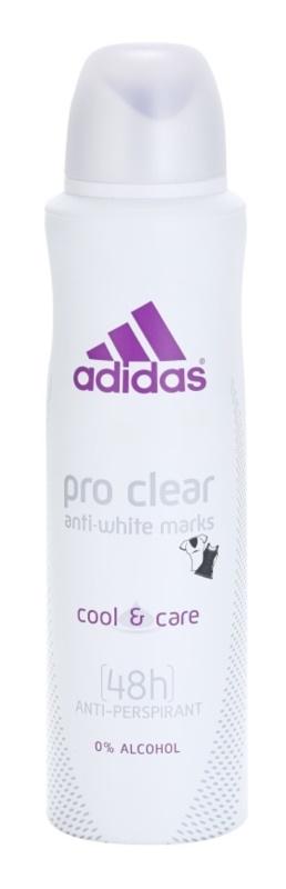 Adidas Pro Clear Cool & Care dezodorant w sprayu dla kobiet 150 ml