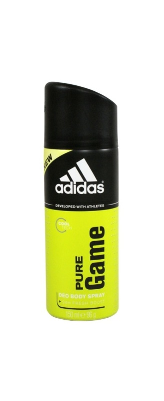 Adidas Pure Game Deo Spray voor Mannen 150 ml