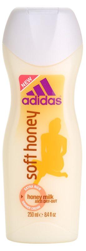 Adidas Soft Honey crème de douche pour femme 250 ml