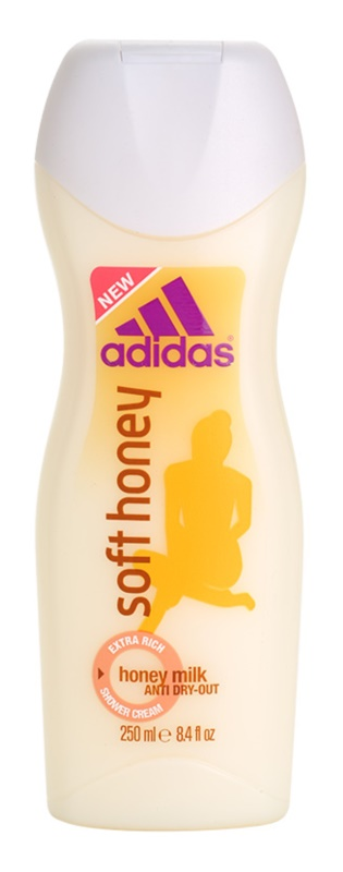 Adidas Soft Honey Dusch Creme für Damen 250 ml