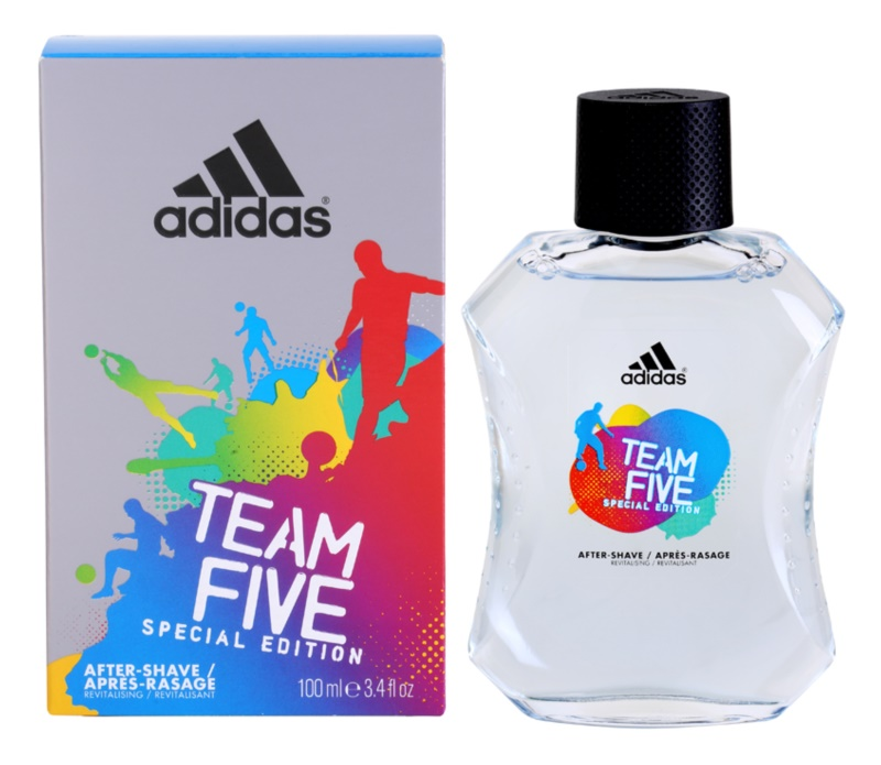 Adidas Team Five voda po holení pro muže 100 ml