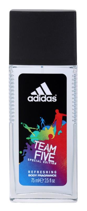Adidas Team Five deodorant s rozprašovačem pro muže 75 ml