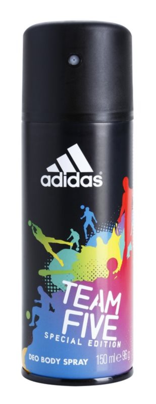 Adidas Team Five deodorant Spray para homens 150 ml