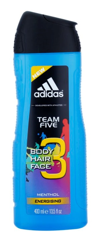 Adidas Team Five sprchový gél pre mužov 400 ml