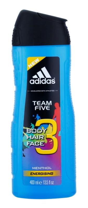 Adidas Team Five tusfürdő férfiaknak 400 ml