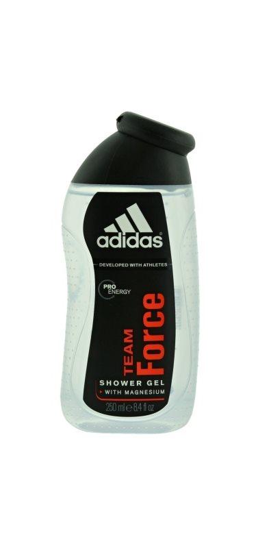 Adidas Team Force gel de duche para homens 250 ml