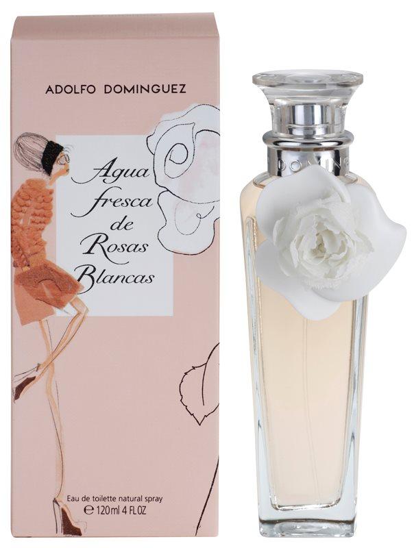 Adolfo Dominguez Agua Fresca de Rosas Blancas Eau de Toilette Damen 120 ml