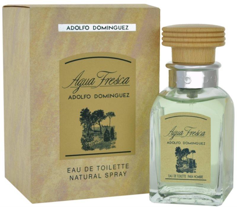 Adolfo Dominguez Agua Fresca eau de toilette pour homme 120 ml