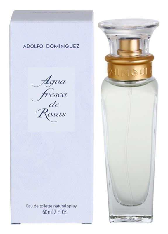 Adolfo Dominguez Agua Fresca de Rosas eau de toilette per donna 60 ml