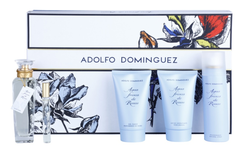Adolfo Dominguez Agua Fresca de Rosas set cadou VI.