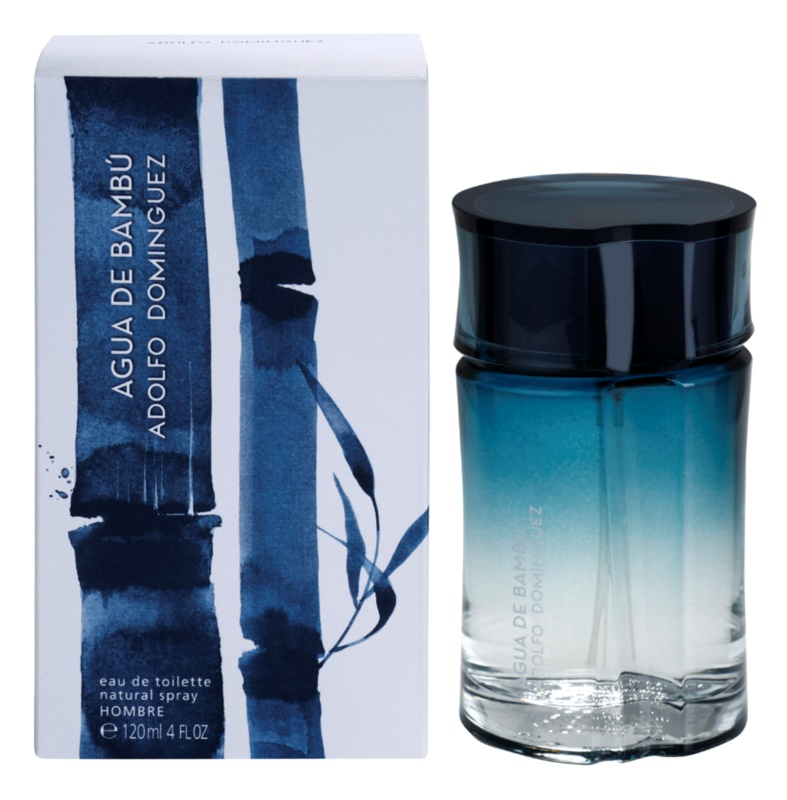 Adolfo Dominguez Agua de Bambú Eau de Toilette for Men 120 ml