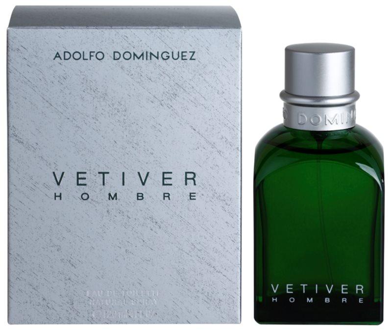 Adolfo Dominguez Vetiver Hombre Eau de Toilette Für Herren 120 ml