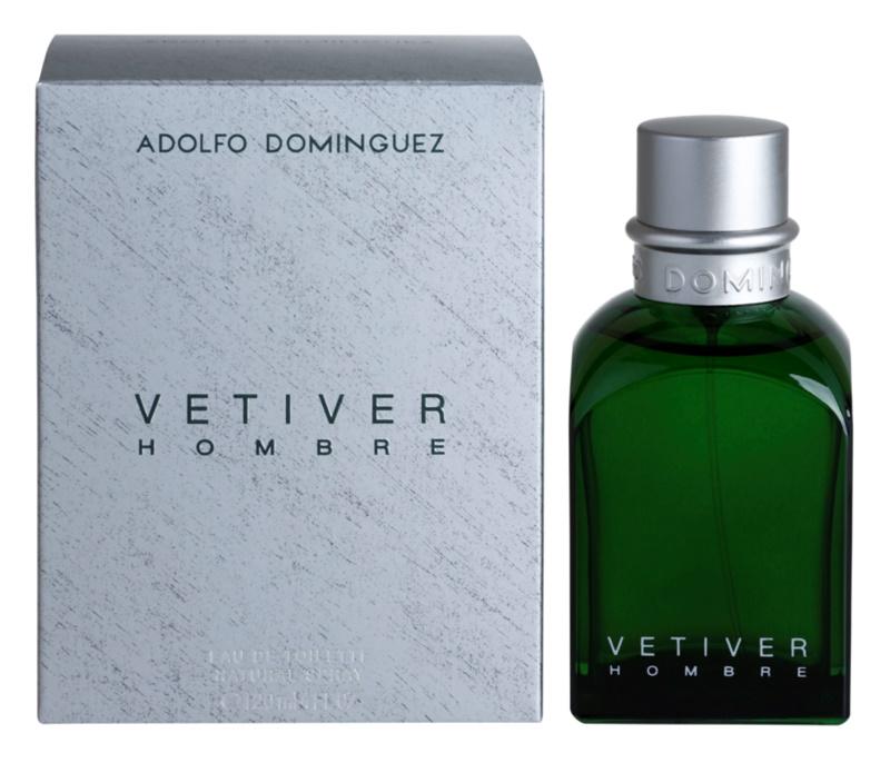 Adolfo Dominguez Vetiver Hombre Eau de Toilette Herren 120 ml