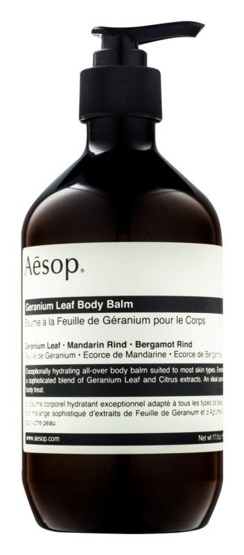 Aésop Body Geranium Leaf feuchtigkeitsspendende Körpermilch