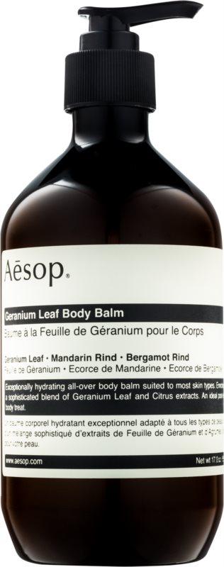 Aēsop Body Geranium Leaf hidratáló testápoló tej
