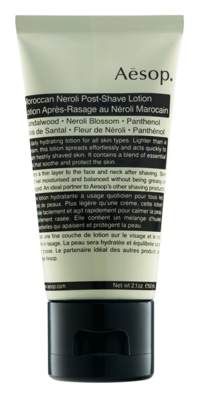 Aēsop Skin Maroccan Neroli Kalmerende Emulsie  na het Scheren