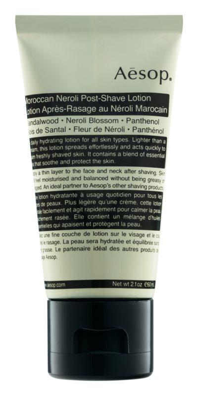 Aēsop Skin Maroccan Neroli upokojujúca emulzia po holení
