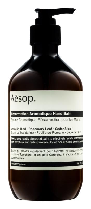 Aésop Body Resurrection Aromatique głęboko nawilżający balsam do rąk