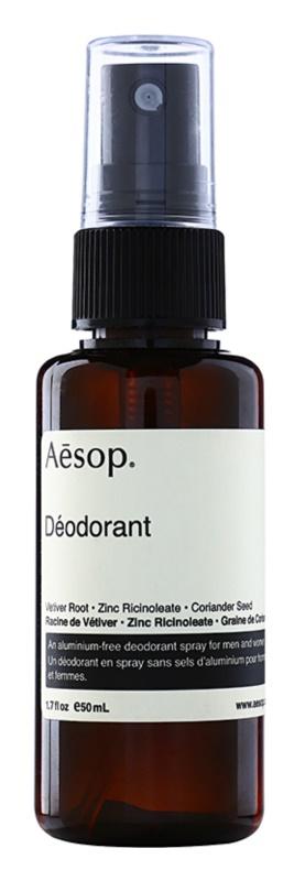 Aēsop Body alumínium mentes dezodor spray formában