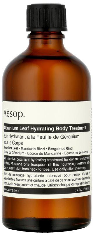 Aēsop Body Geranium Leaf cuidado hidratante para el cuerpo