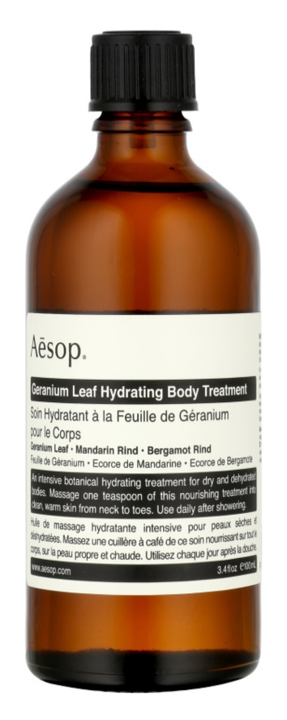 Aésop Body Geranium Leaf soin hydratant corps