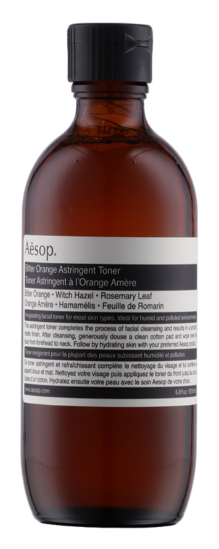 Aésop Skin Bitter Orange jemné čistiace tonikum pre mastnú pleť