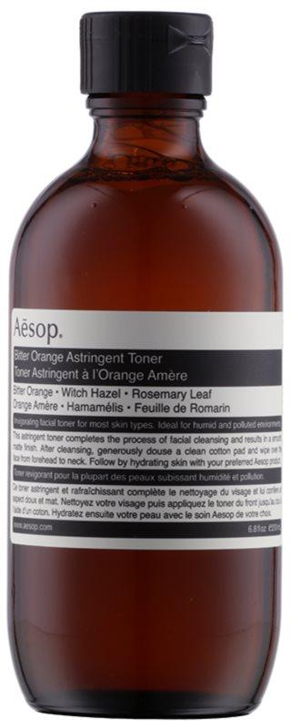 Aēsop Skin Bitter Orange sanftes Reinigungstonikum für fettige Haut