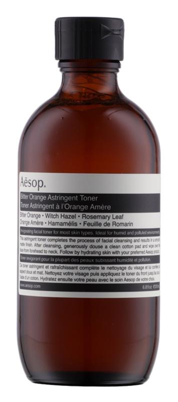 Aésop Skin Bitter Orange нежно почистващ тоник за мазна кожа