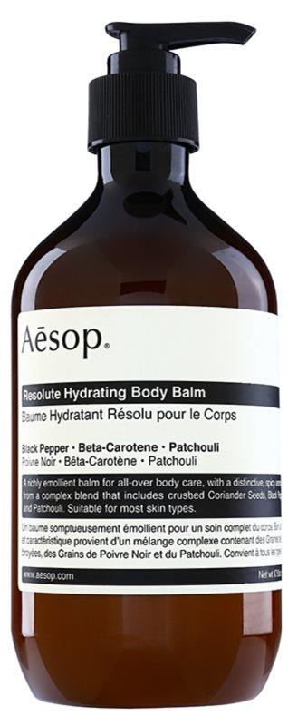 Aēsop Body Resolute Hydrating vlažilni balzam za telo