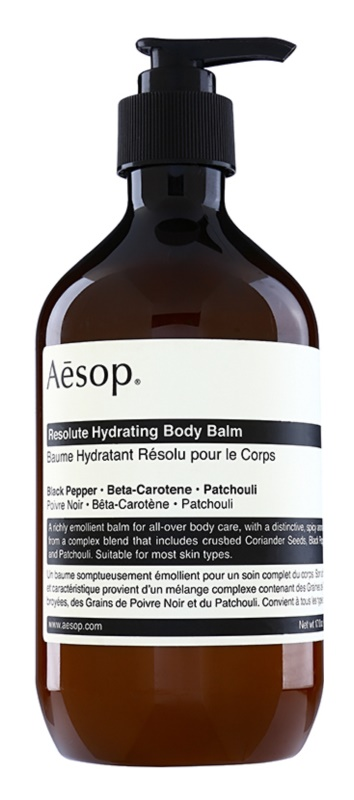 Aēsop Body Resolute Hydrating zvláčňujúci telový balzam