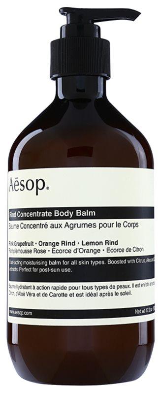 Aésop Body Rind Concentrate baume corporel hydratant pour tous types de peau